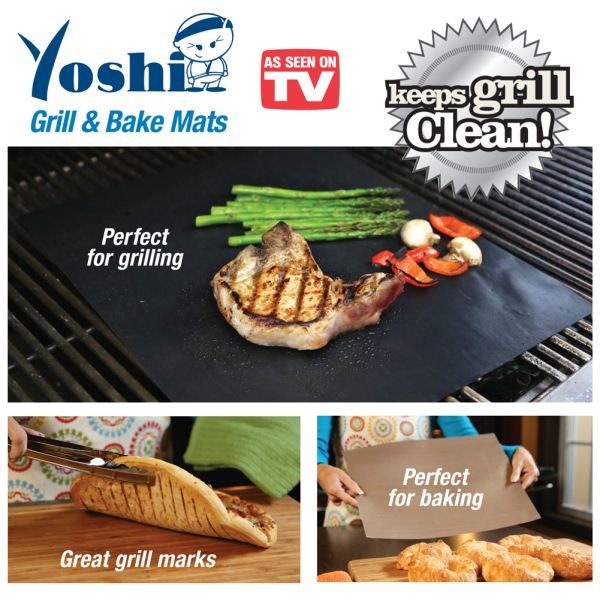 Yoshi Grill And Bake Non Stick No Mess Mats Ningbo Wealthy