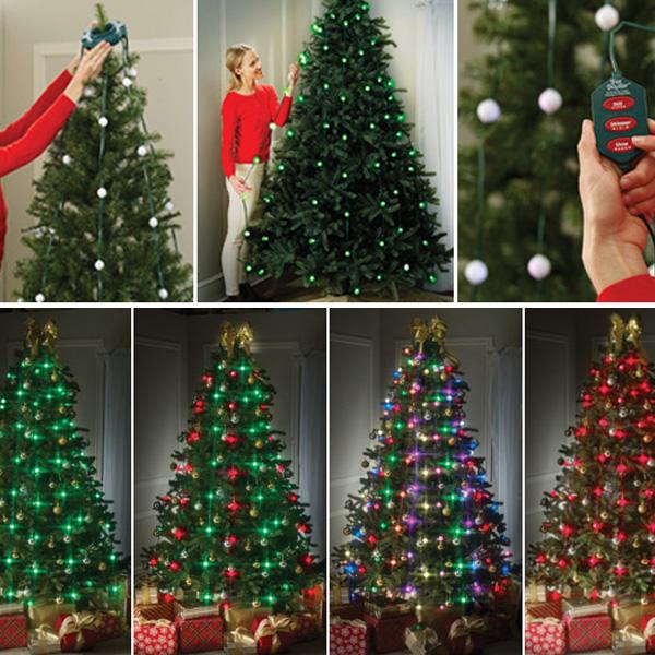 Tree Dazzler Christmas Tree Lights Show-NINGBO WEALTHY